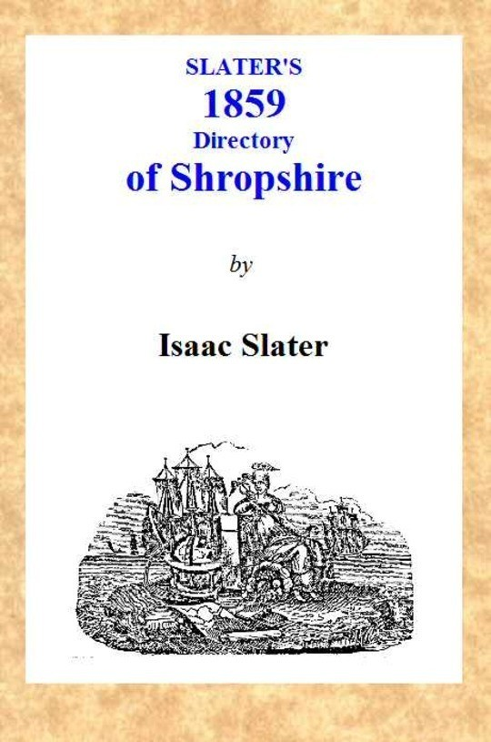 Slater's [1859] Shropshire Directory