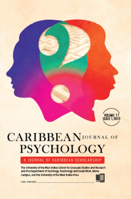 Caribbean Journal of Psychology, Volume 11:1