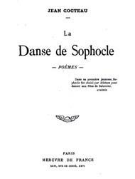 La Danse de Sophocle: Poemes