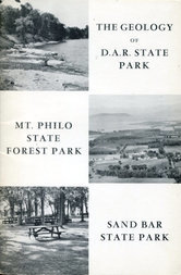 The Geology of D.A.R. State Park, Mt. Philo State Forest Park, Sand Bar State Park