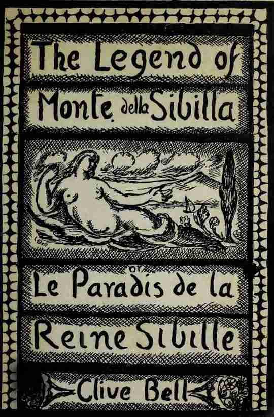 The Legend of Monte della Sibilla or, Le paradis de la reine Sibille