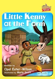Little Kenny at the Farm
