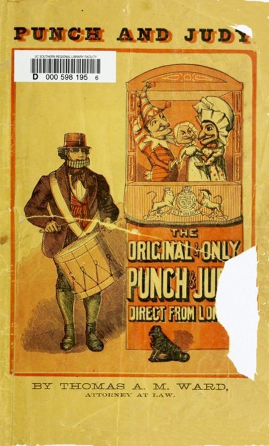 Punch and Judy, with Instructions How to Manage the Little Wooden Actors