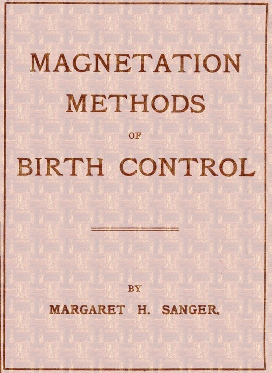 Magnetation Methods of Birth Control