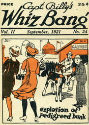 Captain Billy's Whiz Bang, Vol. 2, No. 24, September, 1921 / America's Magazine of Wit, Humor and Filosophy