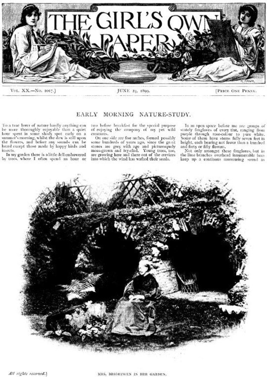 The Girl's Own Paper, Vol. XX, No. 1017, June 24, 1899