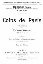 Coins de Paris
