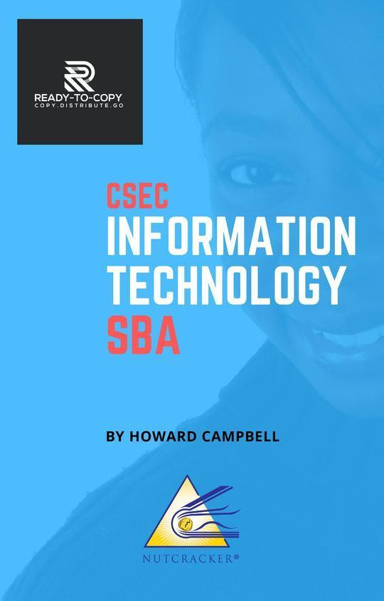 CSEC Information Technology SBA (Ready-to-Copy Series)