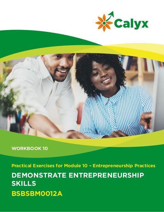 Demonstrate Entrepreneurship Skills