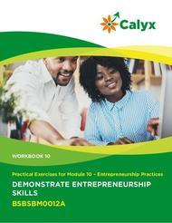 Demonstrate Entrepreneurship Skills