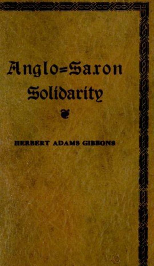 Anglo-Saxon Solidarity