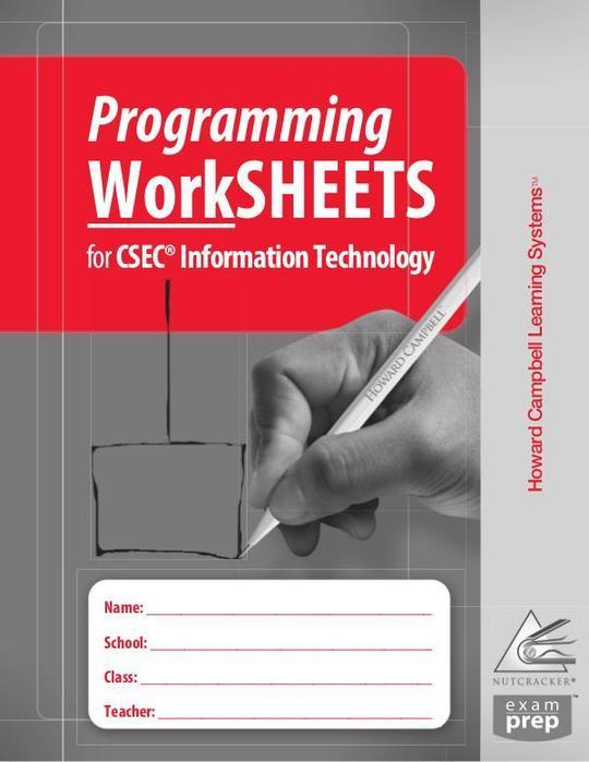 Programming Worksheets for CSEC Information Technology