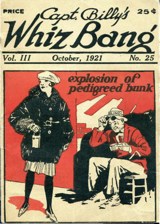 Captain Billy's Whiz Bang, Vol. 3, No. 25, October, 1921 / America's Magazine of Wit, Humor and Filosophy