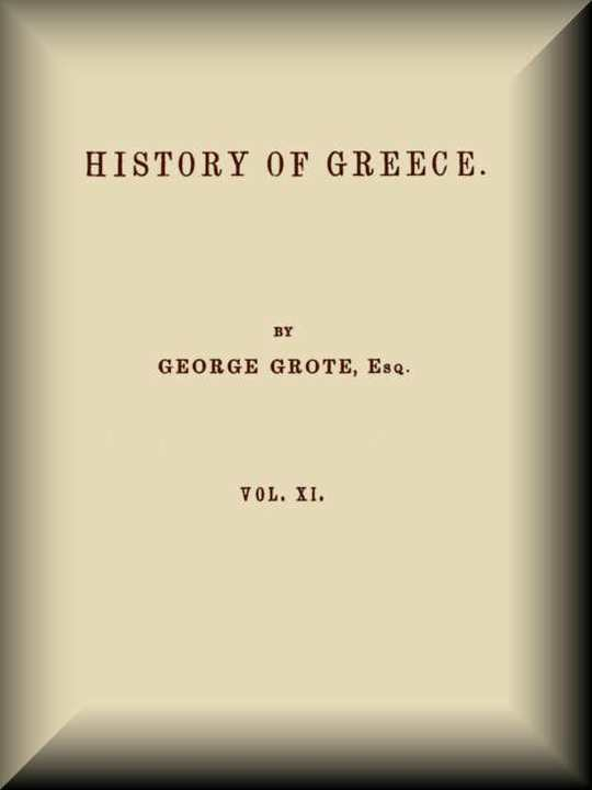 History of Greece, Volume 11 (of 12)