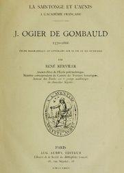 J. Ogier de Gombauld, 1570-1666 / étude biographique et littéraire sur sa vie et ses ouvrages