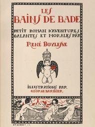 Les Bains de Bade / Petit Roman d'aventures Galantes et Norales