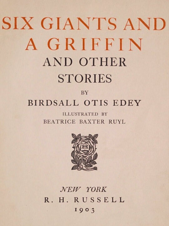 Six giants and a griffin and other stories