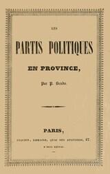 Les partis politiques en Province
