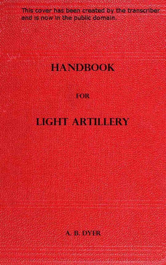 Handbook for Light Artillery