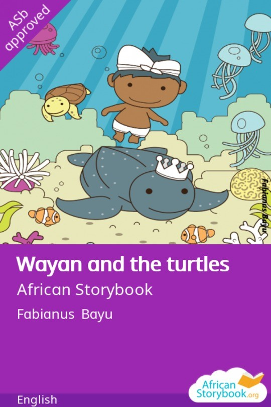 Wayan and the turtles