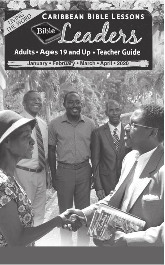 Bible Leaders - Teacher Guide April 2020