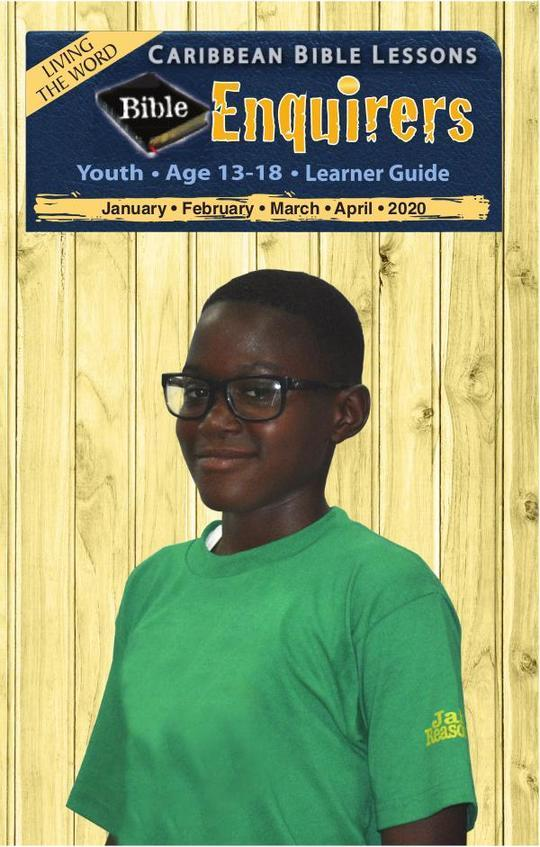 Bible Enquirers - Learner Guide April 2020