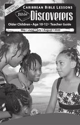 Bible Discoverers - Teacher Guide Summer Issue 2020