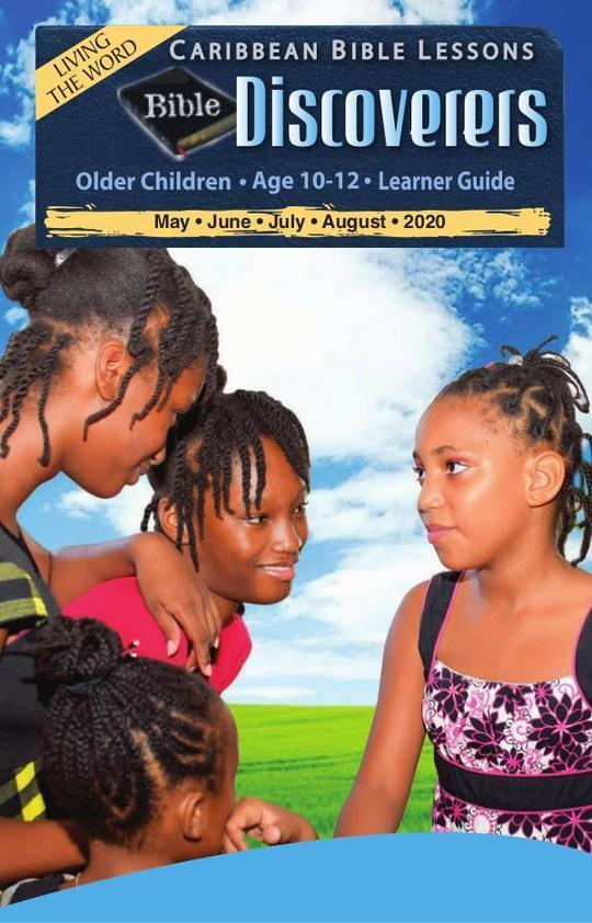 Bible Discoverers - Learner Guide Summer Issue 2020
