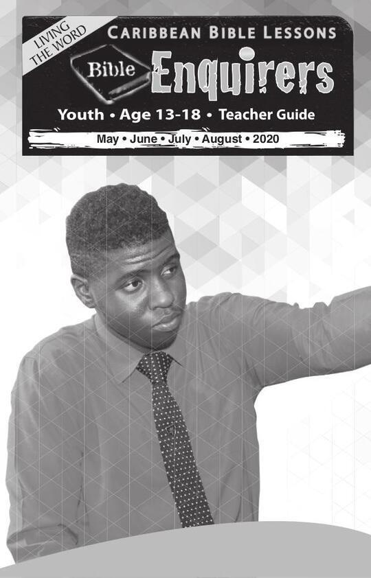 Bible Enquirers - Teacher Guide Summer Issue 2020