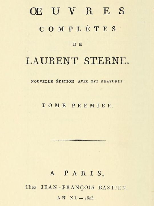 OEuvres complètes, tome 1/6