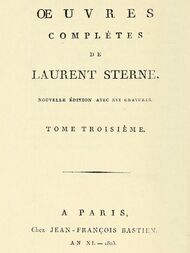 Oeuvres complètes, tome 3/6