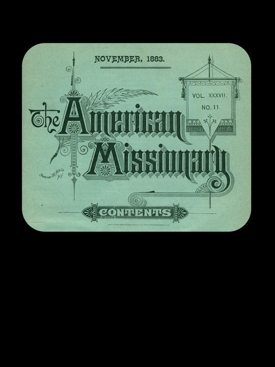 The American Missionary — Volume 37, No. 11, November, 1883