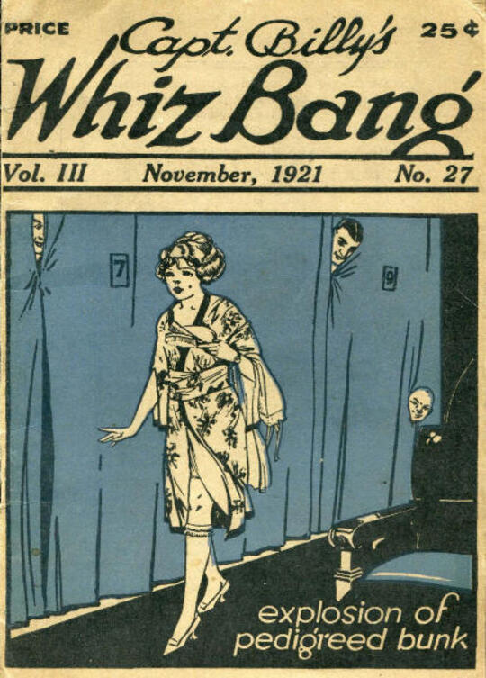 Captain Billy's Whiz Bang, Vol. 3, No. 27, November, 1921 / America's Magazine of Wit, Humor and Filosophy