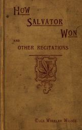 How Salvator Won & Other Recitations