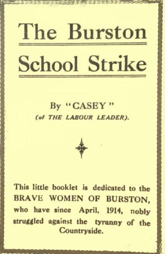 The Burston School Strike