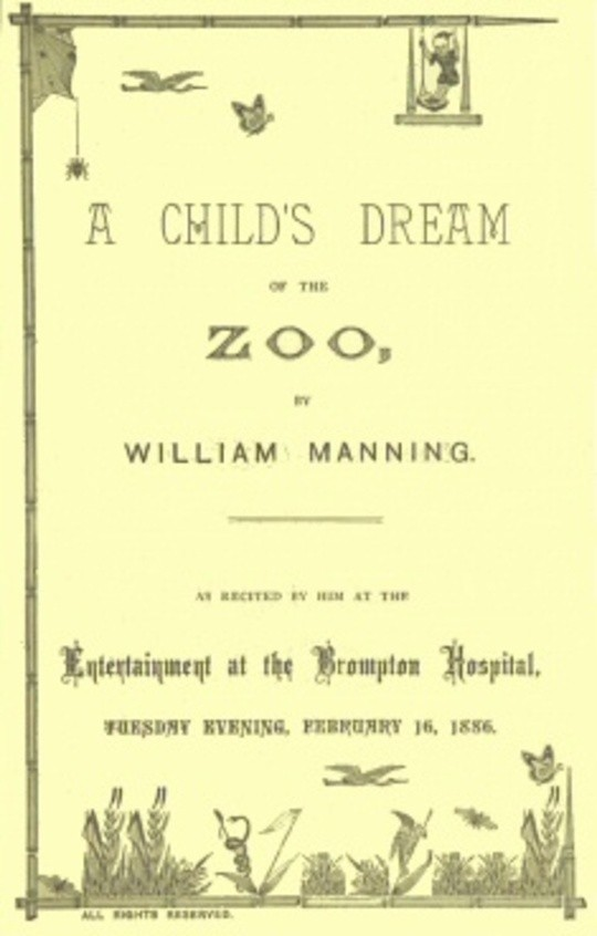 A Child's Dream of the Zoo