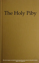 The Holy Piby / The Black Man's Bible