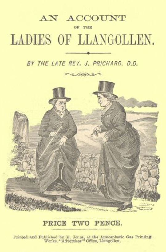 An Account of the Ladies of Llangollen