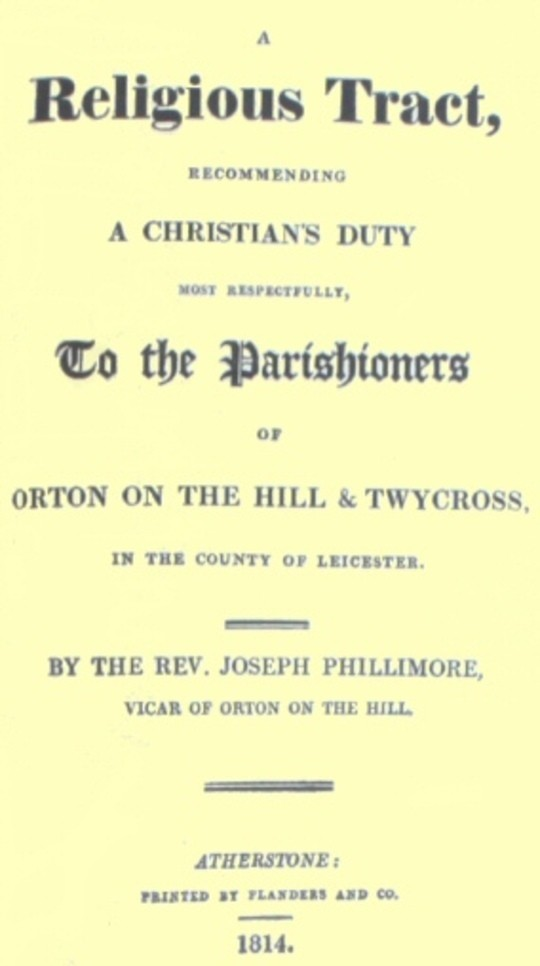 A Religious Tract, recommending a Christian's Duty