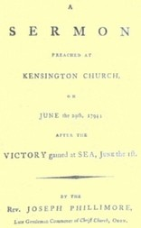 A Sermon preached at Kensington Church, on June the 29th, 1794 / after the Victory gained at Sea, June the 1st