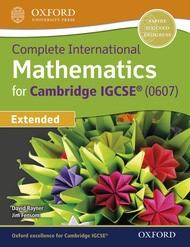 Complete International Mathematics for Cambridge IGCSE® Extended