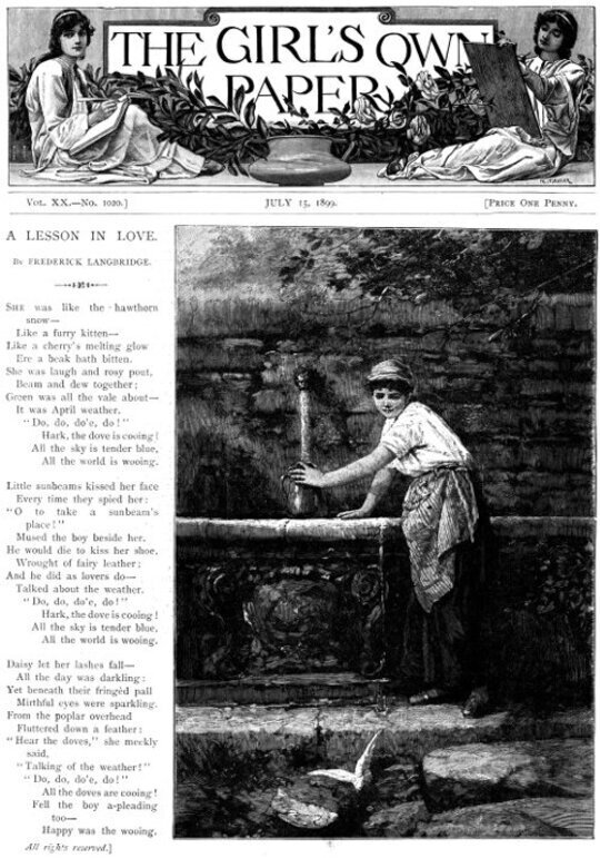The Girl's Own Paper, Vol. XX, No. 1020, July 15, 1899
