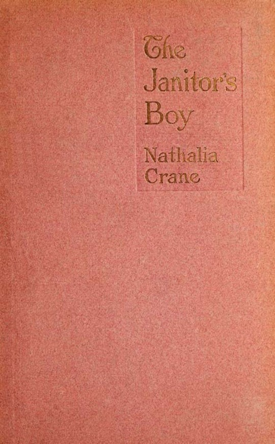 The Janitor's Boy / And Other Poems