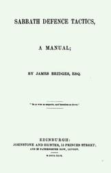 Sabbath Defence Tactics / a manual