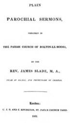 Plain Parochial Sermons preached in the Parish Church of Bolton-le-Moors