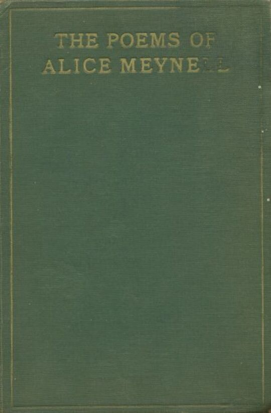 The Poems of Alice Meynell