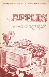 Apples in Appealing Ways Home and Garden Bulletin No. 161