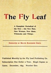 The Fly Leaf, No. 1, Vol. 1, December 1895