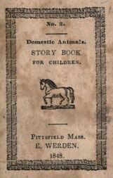 Domestic animals: a story book for children