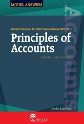 Worked Solutions for CSEC 2007-2011: Principles of Accounts